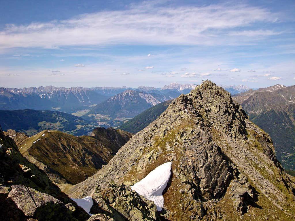 Hohe Aifner Spitze summit view (NE)