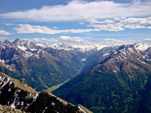 Hohe Aifner Spitze summit view (S)