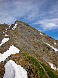 Hohe Aifner Spitze summit slopes