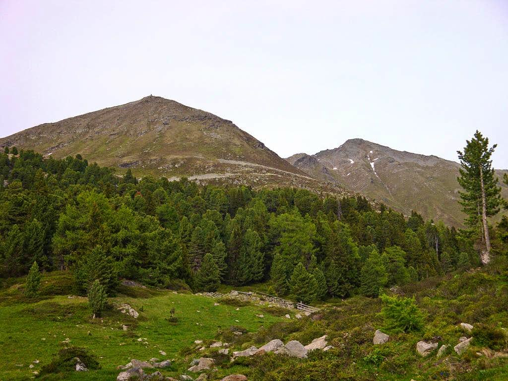 Niedere and Hohe Aifner Spitze