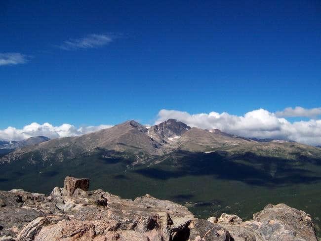 Mt. Meeker (left) and Longs...