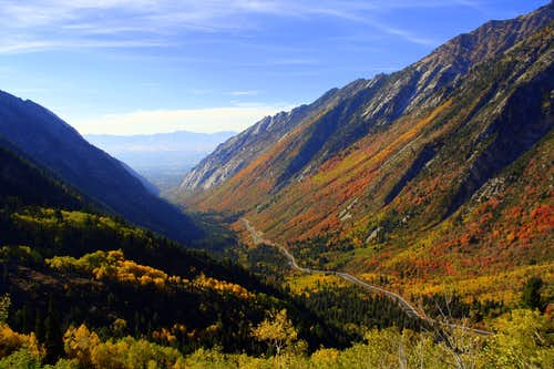 2010 Fall Colors in Little Cottonwood Canyon
