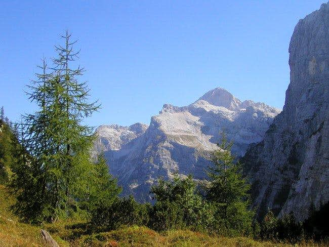Triglav from Zadnjica. On the...
