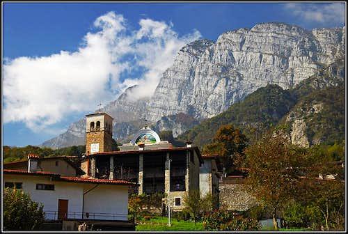 Monte Raut from Poffabro