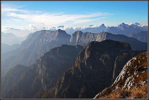 Great Monte Raut panorama
