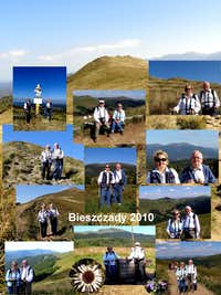 Summer and autumn 2010 in the Bieszczady Mountains
