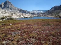 Early Fall Colors in Evolution Basin