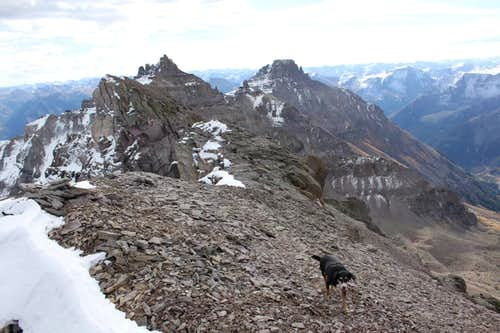 Dramatic summit views