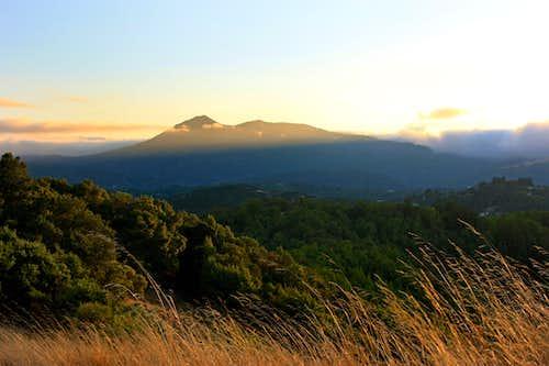 Last light on Mt. Tamalpais