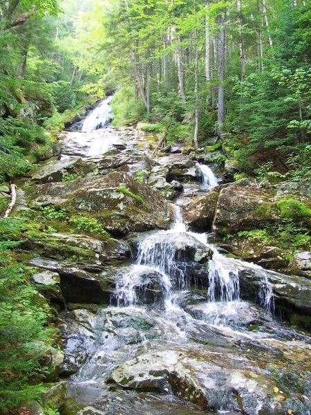 Beaver Brook Cascade, along...