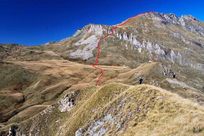 Route to Supla Stena