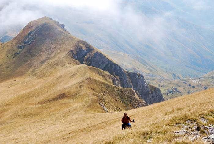 Supla Stena ascent - second part
