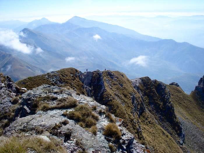 Supla Stena south ridge