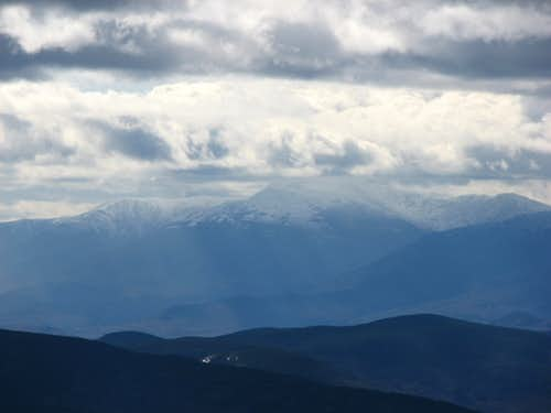 Mount Washington in the Clouds