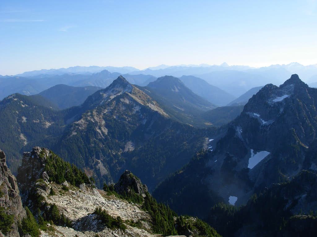 Wild Sky View From Gunn Summit