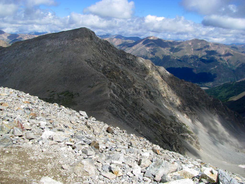 Torreys Peak and Kelso Ridge