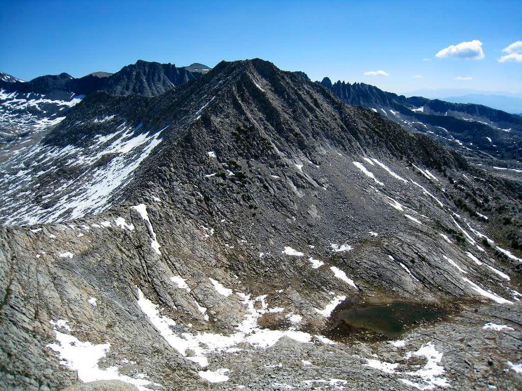 Mount Andrea Lawrence West Ridge