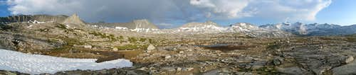 Kuna Creek Basin Panorama