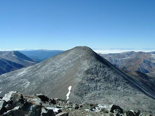 Grays Peak from Torreys Peak,...
