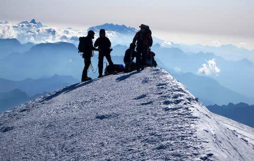 Freezing on Mont Blanc