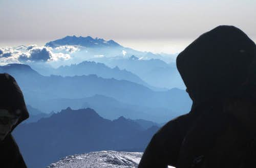 View from Mont Blanc