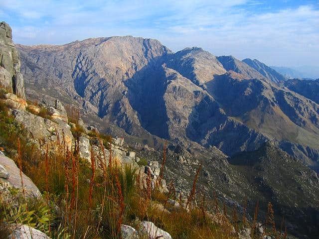 Waaihoek Peak seen from the...