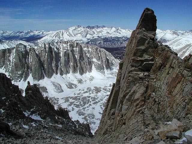 Mount Hitchcock (left center)...