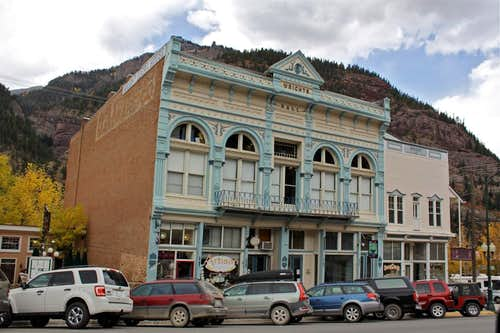 Ouray Main Street