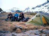 Bivouac under Pic Pointu
