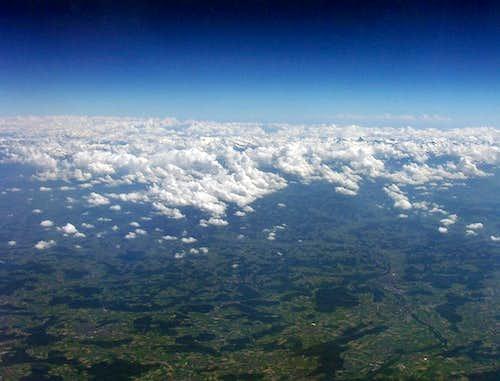Bernese Alps - highest pinnacle is Finsteraarhorn