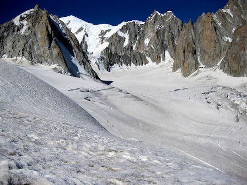 Distant Mont Blanc