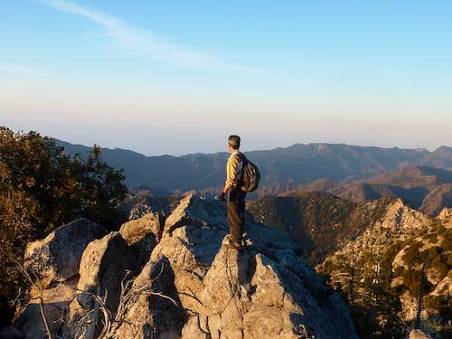great views along Triplet Ridge