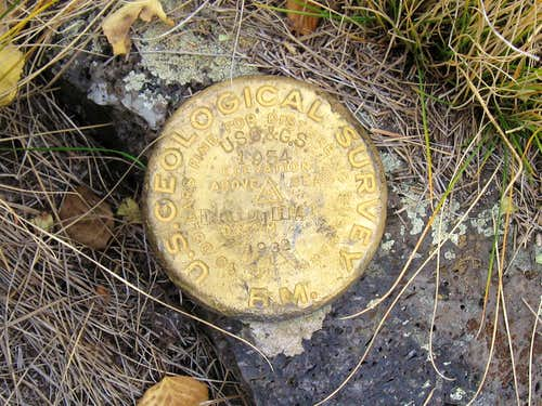Escudilla Mountain Benchmark (AZ)