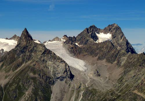Seekogel (3353m) & Watze (3534m)