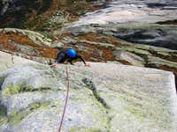 Foxie slab, Grimsel, 8 pitches