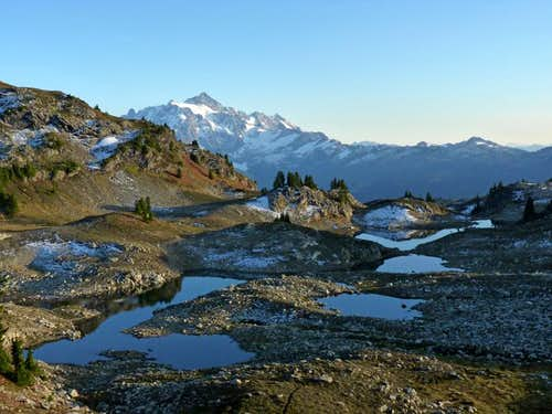 Mount Shuksan and Tarns