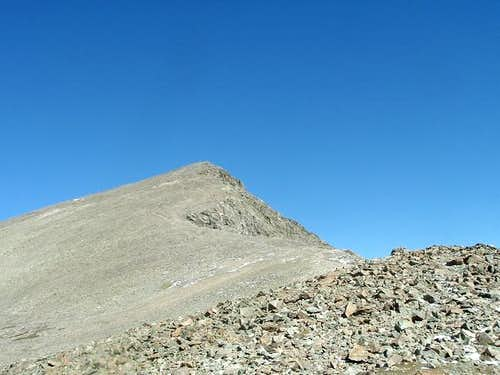 Torreys Peak from the saddle...