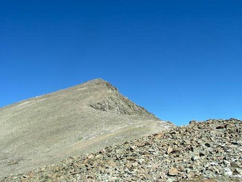 Torreys Peak from the saddle...