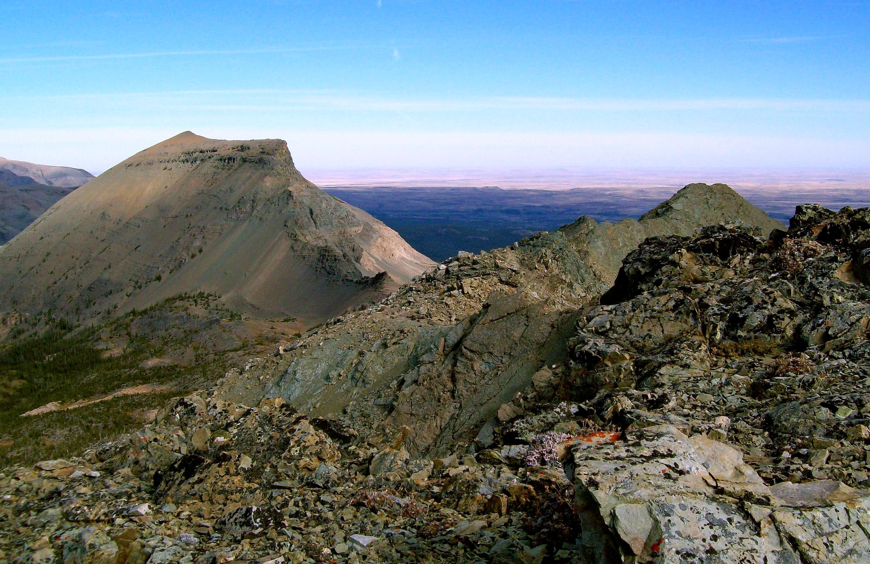 Calf Robe Mountain (GNP)