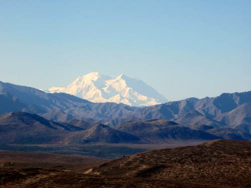 Denali from mount Margaret
