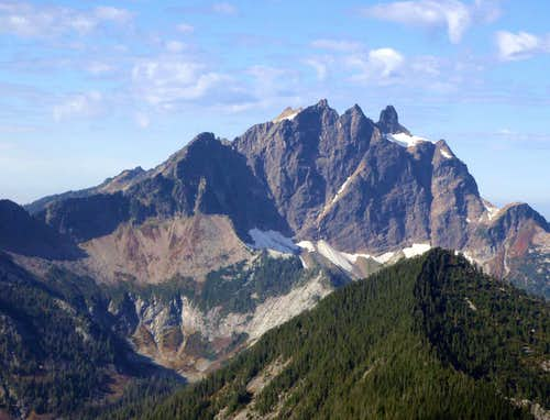 Three Fingers East Face