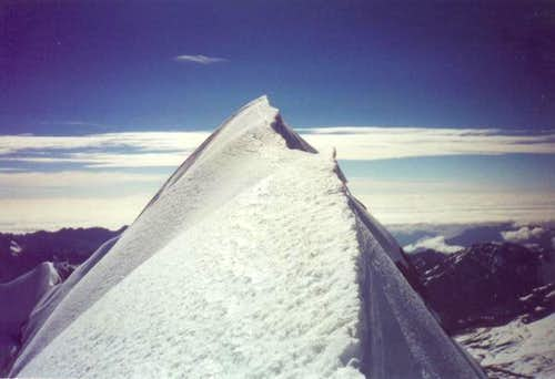 Summit ridge, Cabeza de...