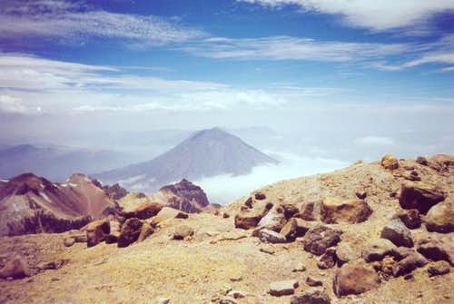 El Misti, from the summit of...