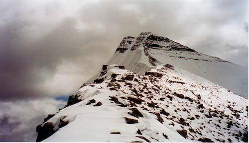 Edith Cavell, East ridge... wait, no, West ridge....