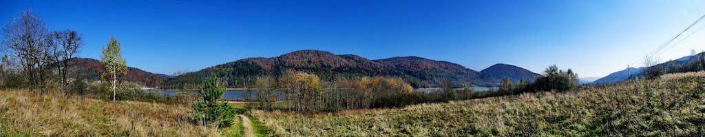 Klimkowskie Lake panorama