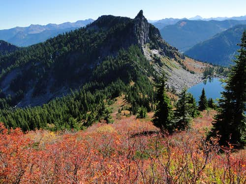 Fall on Mt McCausland.