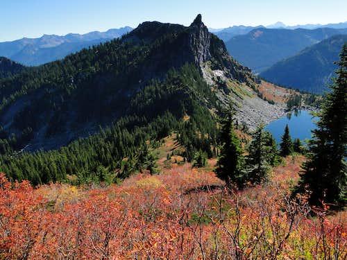 Fall on Mt McCausland.