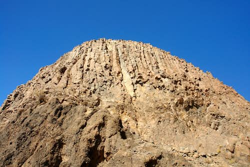 South face of Cerro de Guadalupe