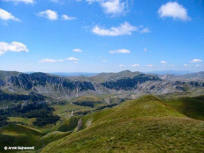 View from Bregoc ridge...