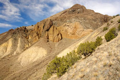 South Face of Cerro de Santa Clara